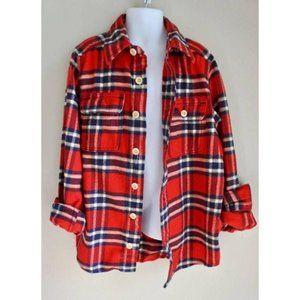 ABERCROMBIE KIDS flannel shirt size M/8